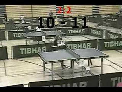 WELSH VETERANS TABLE TENNIS FINAL 2005 - STEVE HALL