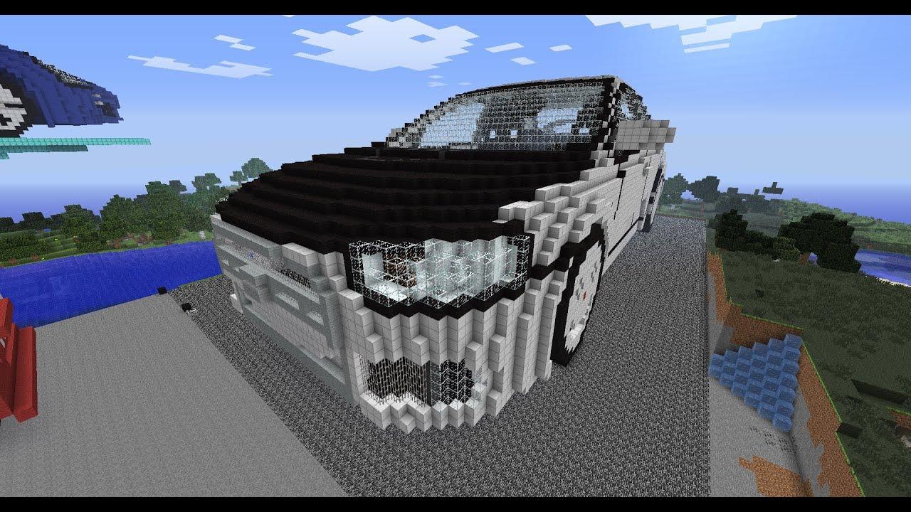 Minecraft 3d Art Mitsubishi Lancer Evolution X Speedbuild
