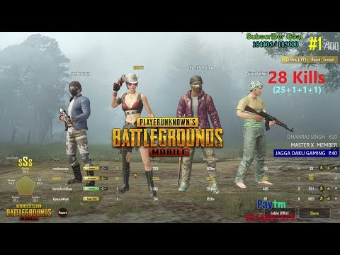 [Hindi] PUBG Mobile | '25 Kills' Winner Winner Chicken Dinner With Subs