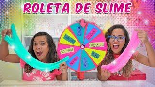 DESAFIO DA ROLETA MISTERIOSA DE SLIME! (Mystery Wheel Of Slime Challenge) - JULIANA BALTAR thumbnail