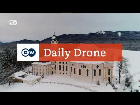 #DailyDrone: Churches in Germany | DW English