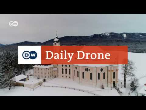 #DailyDrone: Churches in Germany | DW English