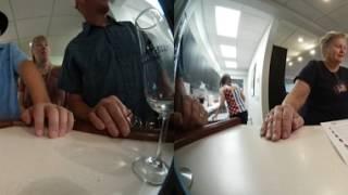 Clover Hill Vineyard Wine Tasting Time Lapse (Samsung Gear 360)