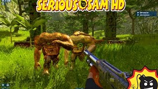 serious sam second encounter HD #1 | Matando bichos raros | Gameplay Español