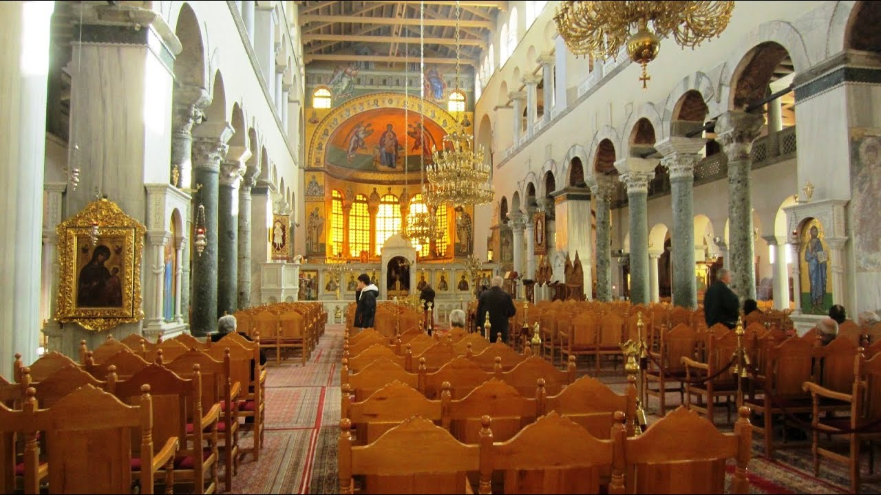 Church of Saint Demetrius - Thessaloniki, Greece - YouTube