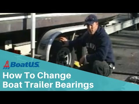 How To Change Boat Trailer Bearings | BoatUS