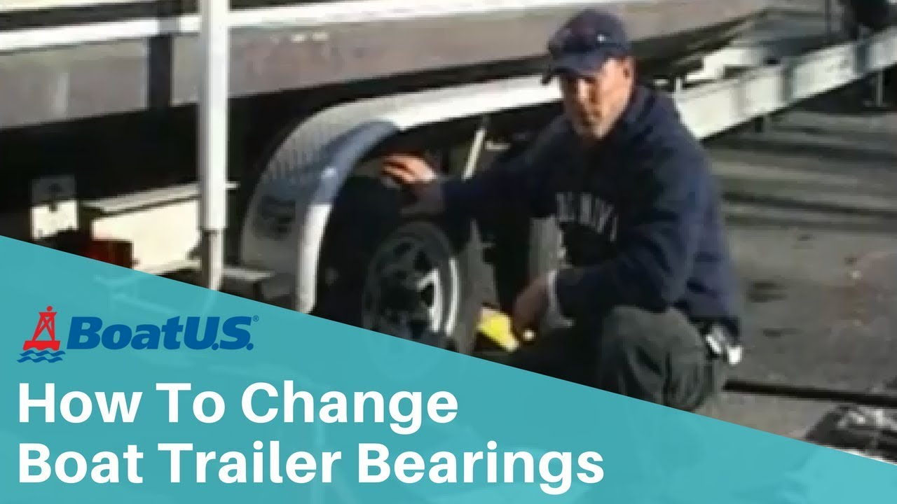 How To Change Boat Trailer Bearings Boatus Youtube Loadmaster Wiring Diagram