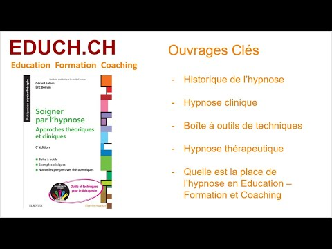 Soigner par l'hypnose  Education - Formation - Coaching Educh.ch
