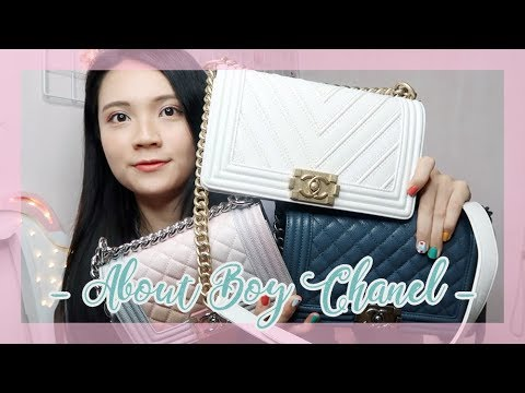 🐰 Bag Collection : 帥氣與性感共存的Boy Chanel 20cm/25cm 手袋分享 優點缺點 🐰