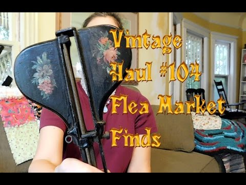Diggin' with Dirty Girl S6E7 Vintage Haul #104: Flea Market Finds to Sell Online, Etsy & Ebay