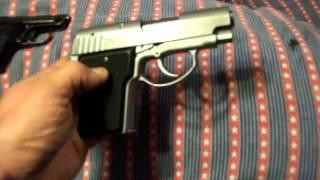 AMT Backup 40 caliber & Baretta 950 22 short