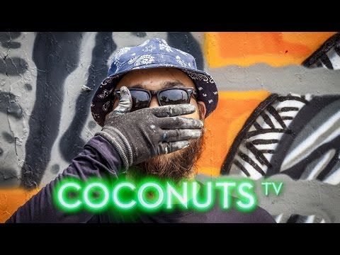 Art Coco: Indonesia's Faceless Street Artist Darbotz | Coconuts TV