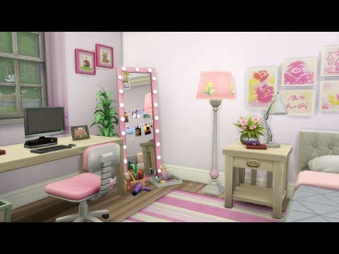 DREAM GIRLY DORM ROOM SPEED BUILD