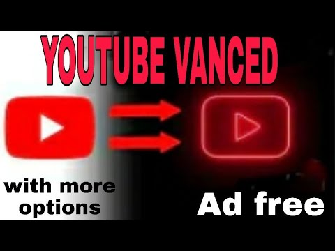 YouTube vanced with more features || ad free, play 4k videos,black theme,play videos background