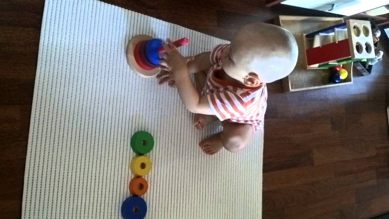 montessori activity for 1 year old
