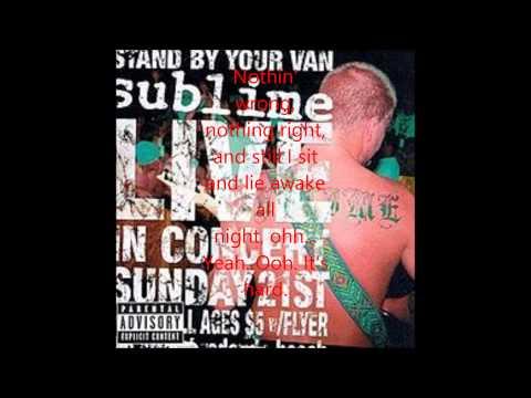 DJs - Sublime Lyrics