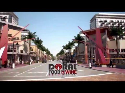 DORAL FOOD & WINE -  2016  FESTIVAL