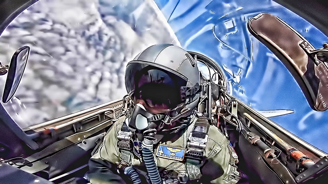 Want To Be A USAF Pilot? • T-38 Talon Cockpit Video (2019)