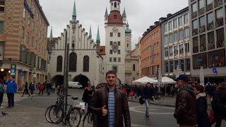 Германия. Мюнхен. Европа. день 2-ой.(Как снять гостиницу в Германии и не попасть на мошенников. Путешествие в Мюнхен. Что можно сделать в Германи..., 2016-10-27T20:54:16.000Z)
