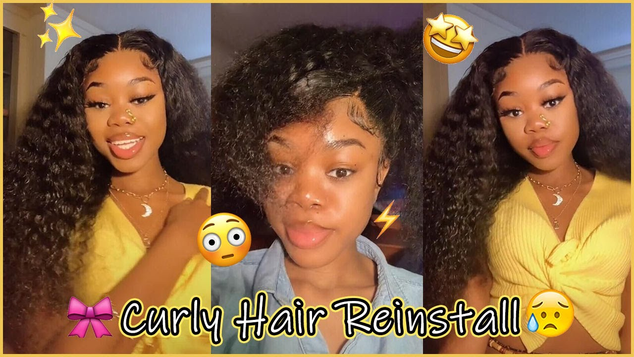 Pretty🥳 Reinstall Our Lace Wig? Undetectable Lace Melted #Elfinhair Review *ANNIVERSARY SALE*