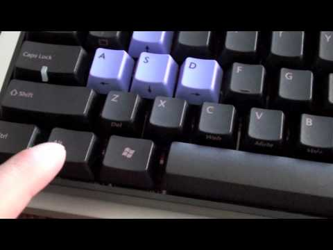 fbe1ab88cd2 KBC Poker Cherry MX Red switches Mac OSX PBT Key caps (103 words per  minute) - YouTube