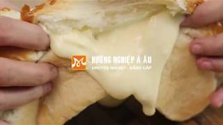 Cách làm bánh mì nhân Phô mai tan chảy cực HOT nhu the nao