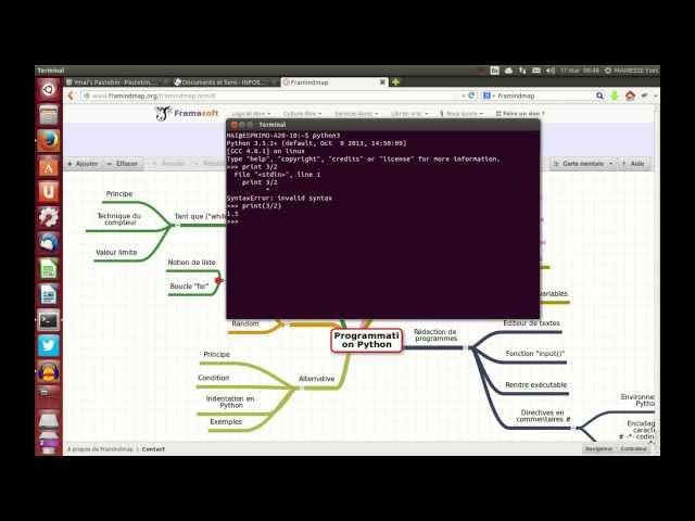 Simulation informatique en langage Python (partie 1)