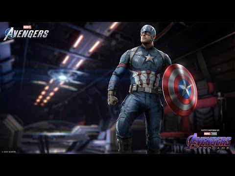 """Marvel's Avengers - Captain America's Marvel Studios' """"Avengers: Endgame"""" Outfit"""