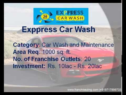 Automotive Franchise Business In India | Car Wash Franchise Opportunities