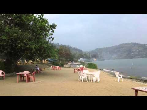 A Beach at Lake Kivu   in Gisenyi, Rwanda