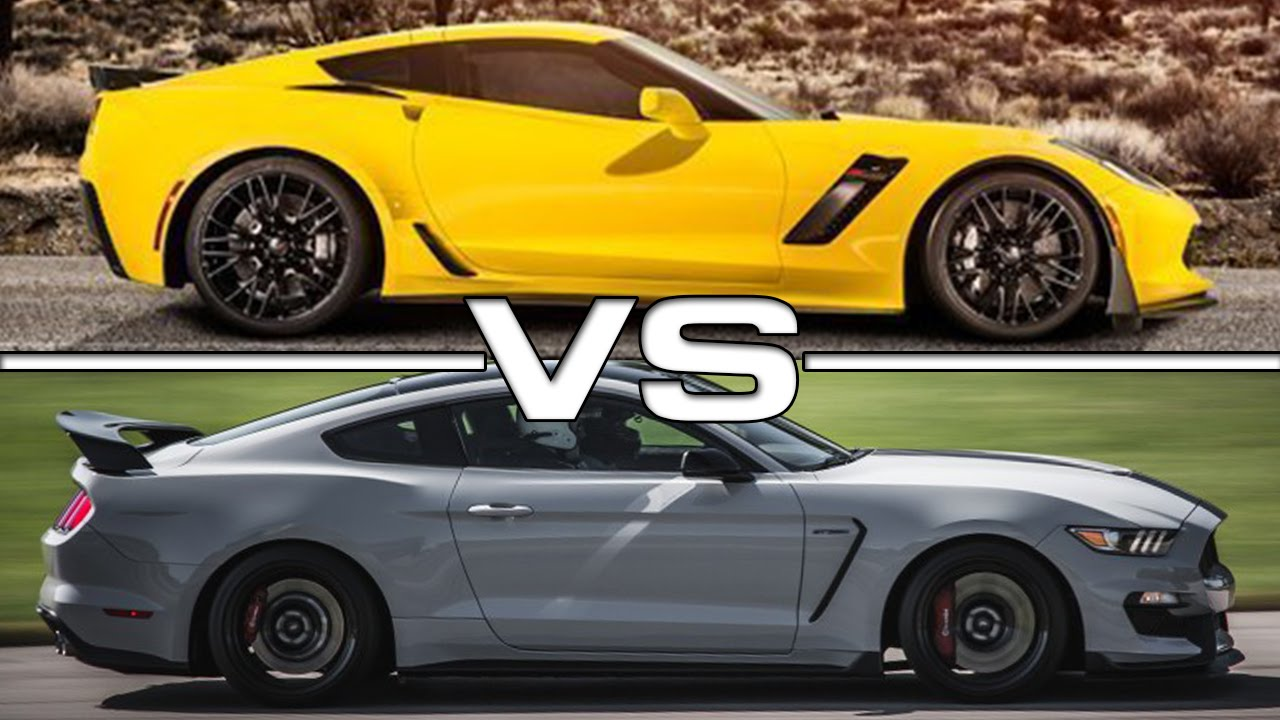 2017 Chevrolet Corvette Z06 Vs 2016