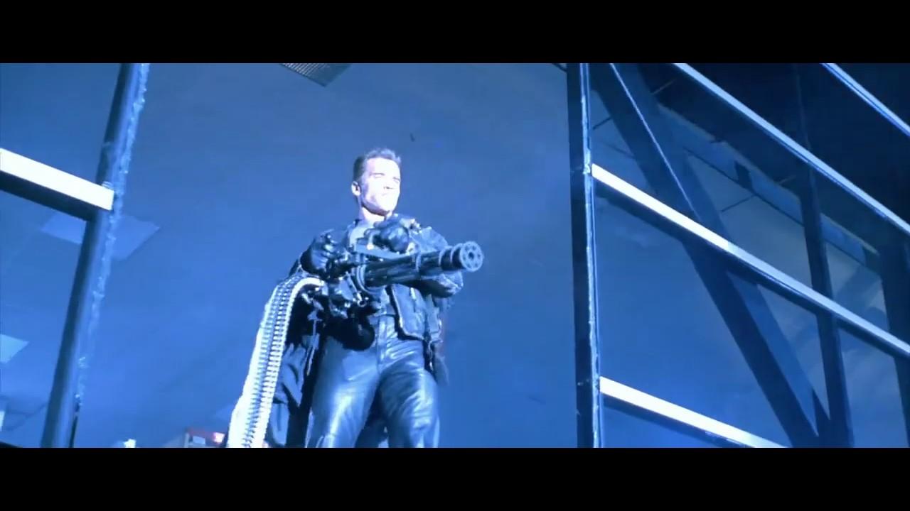 Download Terminator 2 judgment day... Terminator vs cops fight scene