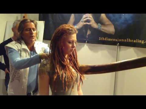 ZARATHUSTRA Performs Psychic Surgery in Workshop, Norway/Zarathustra.TV