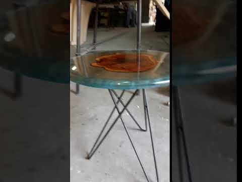 New desing epoxy resin table . Avilabe on Etsy- Agartha Workshop - ETSY