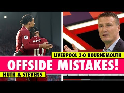 Linesman not to blame for offside mistakes?   Liverpool 3-0 Bournemouth   Astro SuperSport
