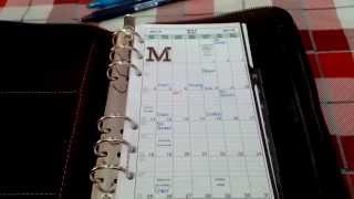 Where Do I Start? Part 1: Setting up your first planner. (Filofax/DayTimer/Franklin Covey)