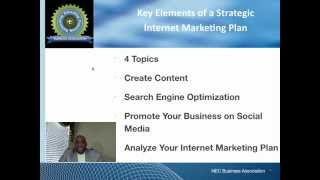 Key Elements of a Strategic Internet Marketing Plan