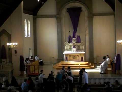 Crux fidelis Veneration of the cross  Good Friday 2010