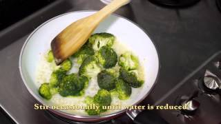 Pan Fried Scallop With Broccoli By Giant Singapore