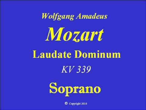 Soprano-Laudate Dominum-Mozart.wmv