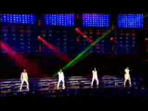 Hit you with the real thing - Westlife LIVE