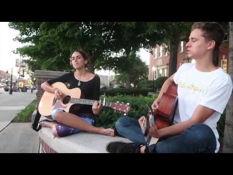 "Brad Yeoman And Tehila Havaiia street perform ""Music In Me"""