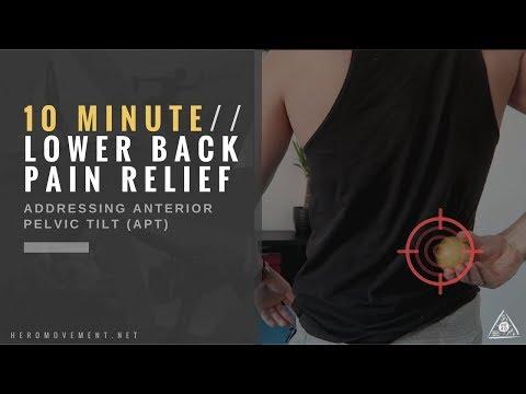 QUICK Low Back Pain Relief (Anterior Pelvic Tilt) / HERO MOVEMENT