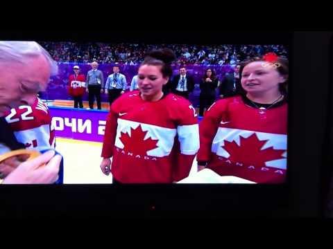 Canadian Womens Hockey Gold