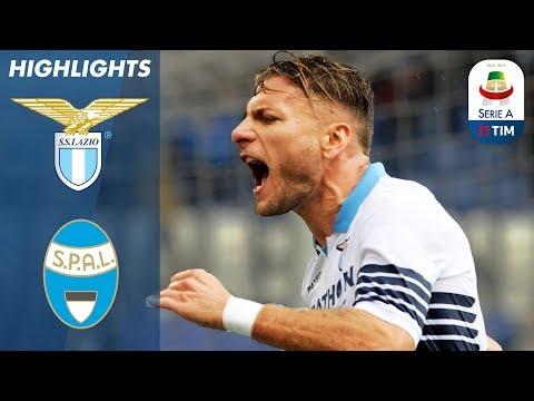 Lazio 4-1 SPAL | Immobile Nets Twice in Lazio Masterclass | Serie A