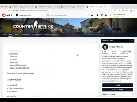 CSGO Reddit Overview - YouTube