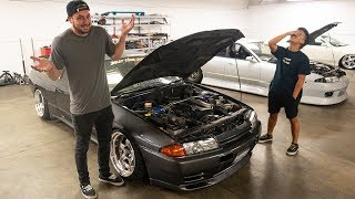 I finally visit ILLIMINATE and I RUIN Randy's R32..!
