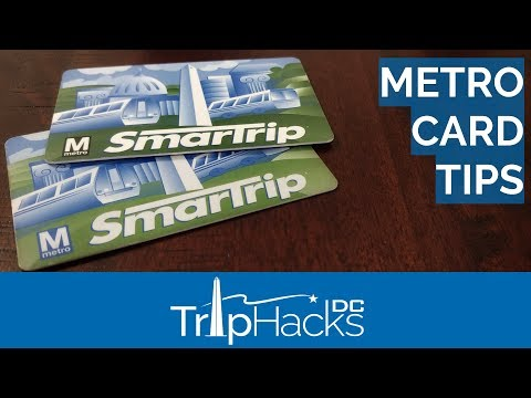 DC Metro SmarTrip Card - How Much Money Do You Need?