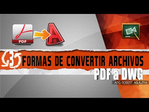 Conversor online gratuito de DWG a PDF