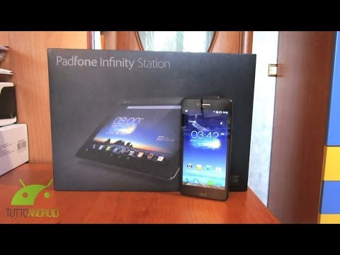 Asus New Padfone Infinity (A86) Unboxing da TuttoAndroid.net